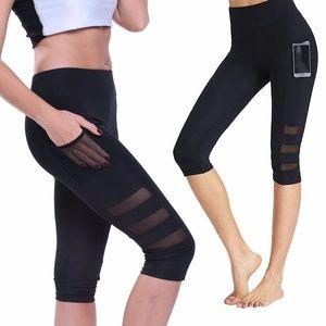 Capri Yoga Pants Leggings for Workout Running